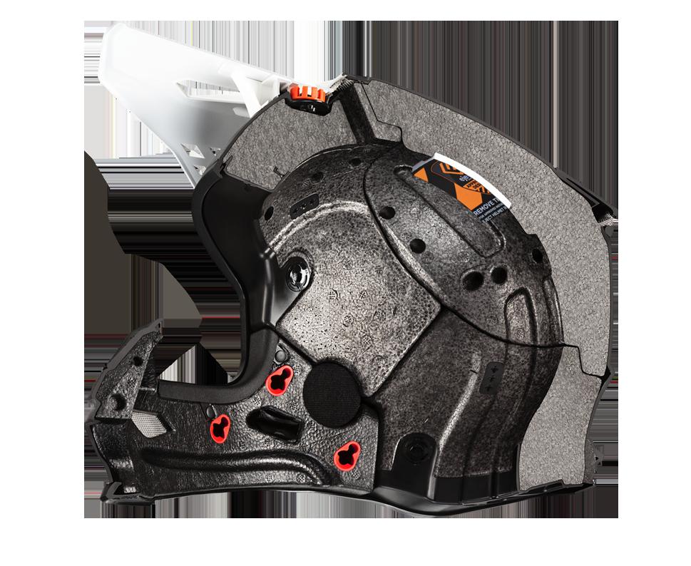 SUPERTECH Helmet S M10 Visor System